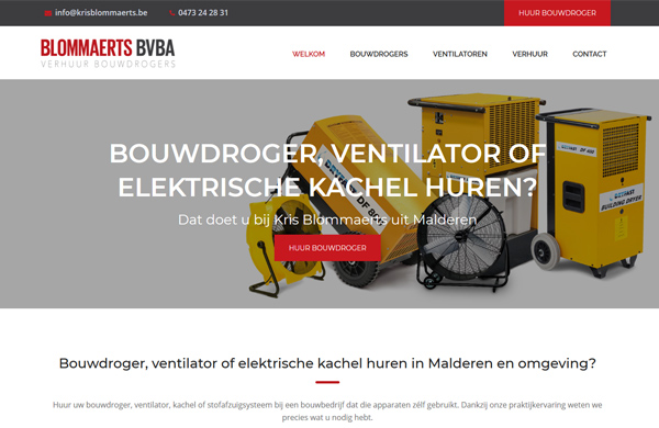 Website Kris Blommaerts